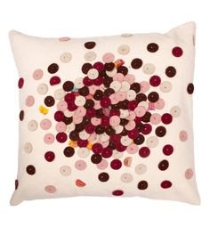 Scarlet Wool Pillow Cover by Barnnwillow Meet this maker May 30/31  #IndieSummerEmporium #PossiblSF #Pier35