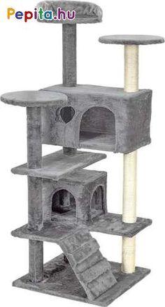 """7 szintes szuper játék macskáknak a Funfittől! Ez a szórakoztató központ és kaparófa azonnal elnyeri majd cicád tetszését és kellemes perceket fog eltölteni rajta! Több kis búvóhely is rendelkezésére áll a számos szuper """"terasz"""" mellett. Leköti figyelmüket és foglalkoztatja őket, mindezek mellett karmaikat is koptatni tudják rajta a kaparófa révén! Pihe-puha plüss anyagból készült, színének köszönhetően pedig minden otthonban kiválóan mutat.    Jellemzői:  - Búvóhelyek  - Nyugágyak, teraszok… Outdoor Decor, House, Home Decor, Homemade Home Decor, Home, Haus, Decoration Home, Houses, Interior Decorating"""
