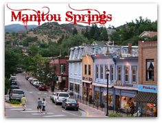 Head to Manitou Springs, right next door to Colorado Springs. They have a lot of cute shops and eateries. Head to Manitou Springs, right next door to Colorado Springs. They have a lot of cute shops and eateries. Head to Mani Aspen Colorado, Denver Colorado, Manitou Springs Colorado, Colorado Trip, Colorado Springs Downtown, Living In Colorado Springs, Colorado Mountains, Colorado Rockies, Pikes Peak