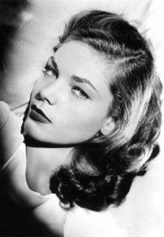 """Lauren Bacall """"The Look"""""""