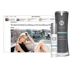 Nerium and Supermodel Lexi Boling: A Red-Carpet Combo