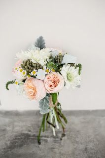 Brie's Honeybees & Flowers- bride's bouquet for July wedding I did