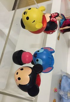 Tsum tsum lip balm coming to Target for the holidays.