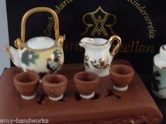 Asian Tea Service from Reutter Porcelain.