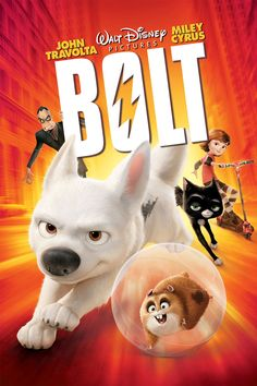 Bolt (Disney 2008) - A dog travels across the country to be reunited with his person, with the help of Mittens the cat and Rhino the hamster.  Cute story discussing the abandonment of animals and the bond between a person and their pet.  Decent language, decent dress-code, decent morals.