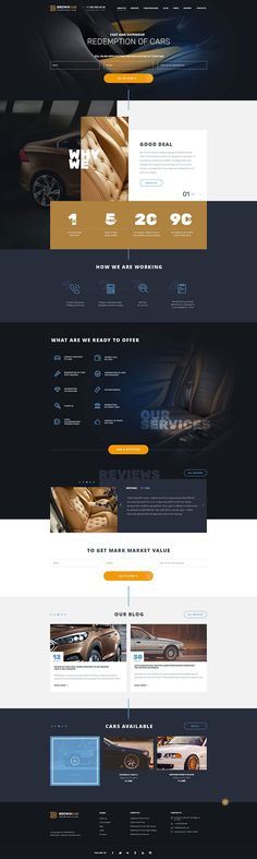 BrownCar is clean and modern design template for and - interior design Homepage Layout, Homepage Design, Website Layout, Web Layout, Layout Design, Car Websites, Minimal Web Design, Clean Design, Graphic Design
