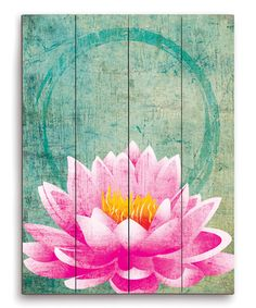 lotus yoga flower zen meditation painting wall buddha zulily space diy paintings rooms canvas buddhist massage flowers office waterlillies inspiration