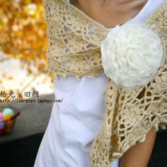 crochet wrap @Micah Maltsberger - tell your wife about this--she could do it!
