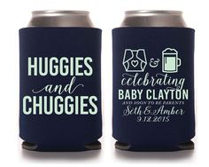 Baby Shower Favors, Huggies and Chuggies, Gender Reveal Party Favor, Diaper Baby…