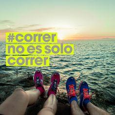 Porque #correr no es solo correr, disfruta cada segundo, disfruta cada momento. #corrernoessolocorrer
