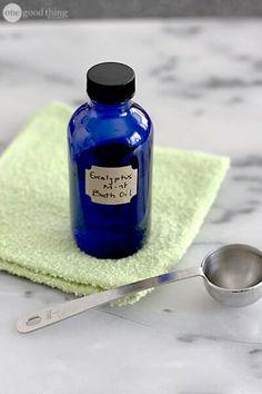 Eucalyptus Mint bath oil