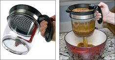 A Fat Separator that looks like it actually works. Lee Valley Tools. #gadget #kitchen #realsimple