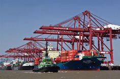 Commissioned on May 26th 1989, Jawaharlal Nehru port as three dedicated container terminals that handle approximately 60 percent of total shipping containers, moved by all the major ports in India. Port officials hope to be able to handle 10 million TEUs by the year 2015-16.