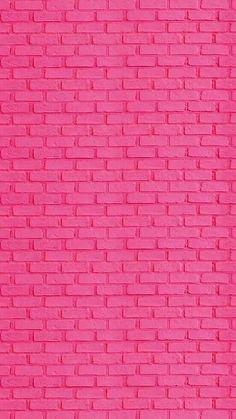 Pink Wallpaper Iphone, Cute Wallpaper Backgrounds, Tumblr Wallpaper, Aesthetic Iphone Wallpaper, Aesthetic Wallpapers, Cute Wallpapers, Brick Wallpaper, Screen Wallpaper, Pattern Wallpaper