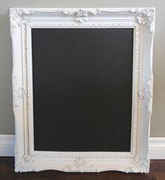 large ornate framed chalkboard ‹ æ creative // design, event planning & rentalsæ creative // design, event planning & rentals