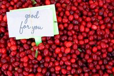 Fruits are packed with fiber, vitamins and minerals. But popping some cranberries can have even bigger health benefits.