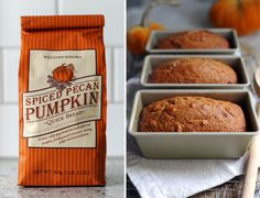 Everyone loves Williams-Sonoma's Spiced Pecan Pumpkin Quick Bread. I mean, what says fall more than the smell of pumpkin bread coming from your kitchen? A couple of years ago I formulated a recipe to
