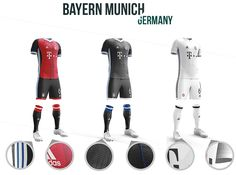 Football kit concepts: a study of identity on Behance