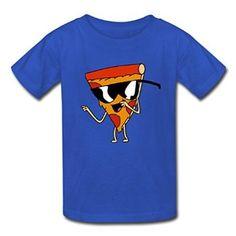 Amazon com Hugogo Popular On Sale Pizza Steve Kid 39 s T shirt Clothing