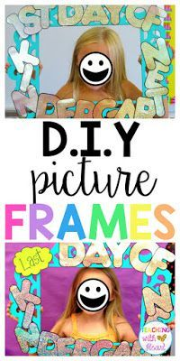 Looking for an easy, cute photo prop for back to school pictures? This DIY photo frame is simple to make and can be transformed into a last day of school photo prop too! Want to know how? Check out this DIY tutorial!