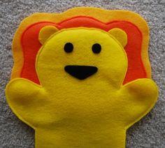 Lion Puppet Tutorial