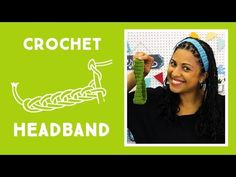 Crochet Headband: Easy Craft Tutorial with Vanessa of Crafty Gemini Creates - YouTube