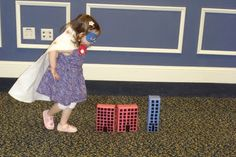 DIY Super Hero Party - leap over tall buildings! some great games