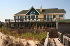 Book Beach Haven - Ocean Hill Rental, a vacation rental in . Obx Rentals, Vacation Rentals, Beach Haven, Ocean, Cabin, House Styles, Home Decor, Homemade Home Decor, Cabins