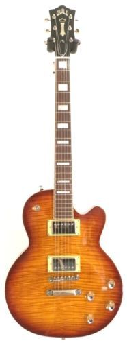 #Guitars #Musical Guild Bluesbird ITB Iced Tea Burst Solid Body Electric Guitar w//Bag -Blem #N129 #Christmas #Gifts