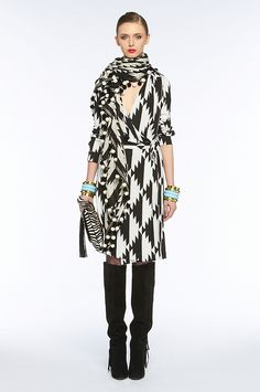 love DVF wrap dress!