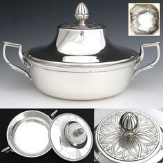 Tabletop & Serving Business & Industrial Special Section Vtg Cordova Holloware Chaffing Dish In Open Box But Never Used Special Buy