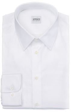 White Dress Shirt by Armani Collezioni. Buy for $235 from Neiman Marcus