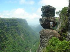 Pedra do Segredo e Canion Fortaleza - Aparados da Serra - Rio Grande do Sul - Brasil