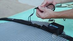 Mic Bergsma shows how easy it is to install NOCQUA on a paddleboard
