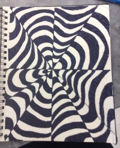 Optical illusion. Markers. Different Media, Create Image, Optical Illusions, Animal Print Rug, Markers, Animals, Decor, Art, Animais
