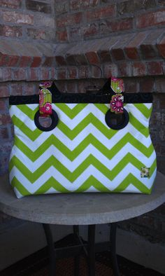 Chevron Purse by AlSoBags on Etsy, $42.00