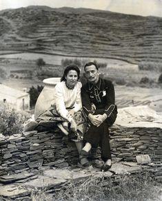 Salvador and Gala