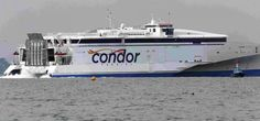 The fast ferry service between Poole and the Channel Islands has been cancelled