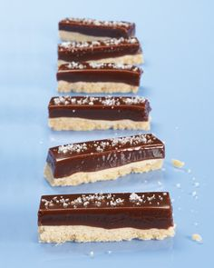 Chocolate-Caramel Cookie Bars - Martha Stewart Recipes