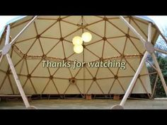 A Do-It-Yourself GeoDome Greenhouse - YouTube