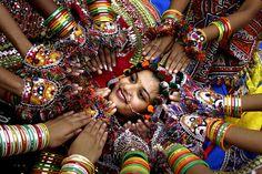 Navratri festival - Gujarat, India