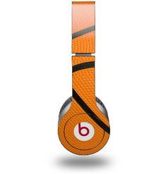 WraptorSkinz Basketball Decal Style Skin for Genuine Beats Solo HD Headphones Music Headphones, Best Headphones, Sports Headphones, Basketball Tricks, Basketball Is Life, Basketball Jewelry, Basketball Stuff, Basketball Party, Beats By Dre