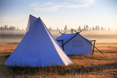 Canvas Tents, Yellow