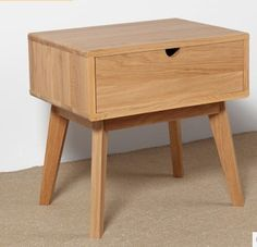 Japanse stijl meubels hout nachtkastje, houten meubelen, 100% eiken nachtkastje, vierkante hout tafel, pastorale stijl, slaapkamer meubels(China (Mainland))