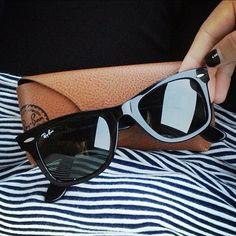 #Wayfarer de #Rayban, encore un classique de la marque. #lunettes #sunglasses
