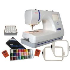 Janome Memory Craft 300E Beginner Embroidery Package
