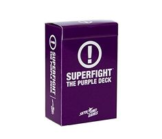 Amazon.com: SUPERFIGHT: The Purple Deck: Toys & Games