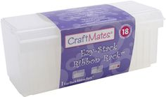 Craft Mates Ezy-Stack Ribbon Rack...need 3 of these haha! (affiliate)