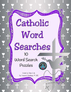 Catholic Word Search Puzzles