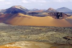 (CREDITS: Marco Simoni via Getty Images)  Winter Breaks With Guaranteed Sunshine:  Discover the dramatic volcanic landscape of Lanzarote (Think Canaries, think bring on the Full English? Think again. Lanzarote, an island of brooding volcanoes, has  managed to contain its tourist development, allowing its natural beauty to break through. Black volcanic fields, deep green cacti, whitewashed cottages: it's a landscape to gladden the cool designer's eye. December may be the beginning of the...)